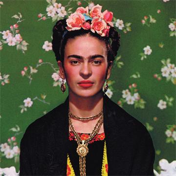 GetCOO Frida Kahlo portrait