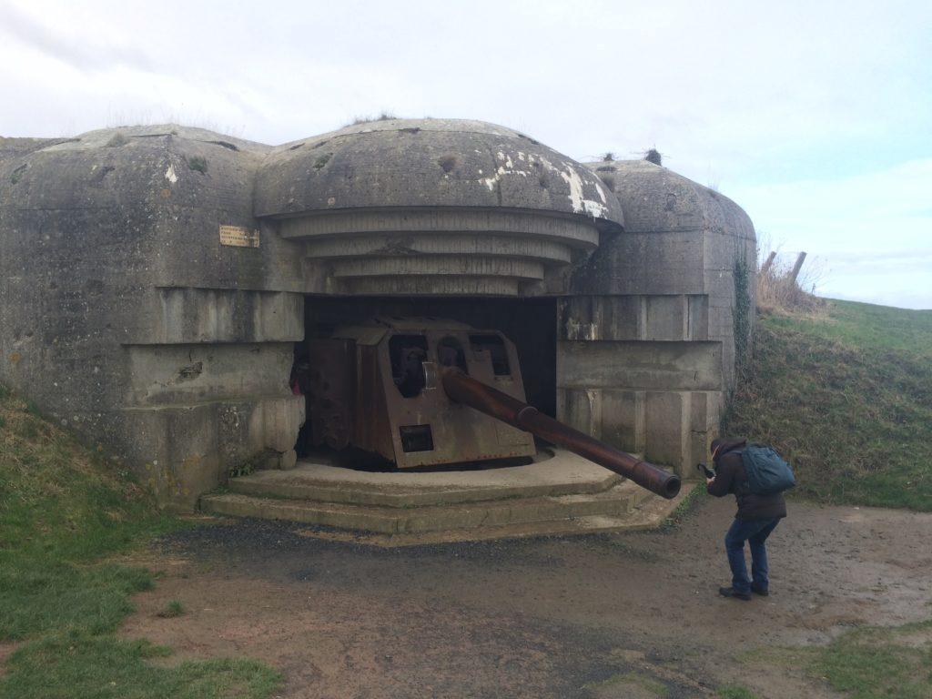La batterie de Longues-sur-Mer dal viaggio dei COOer di GetCOO in Normandia
