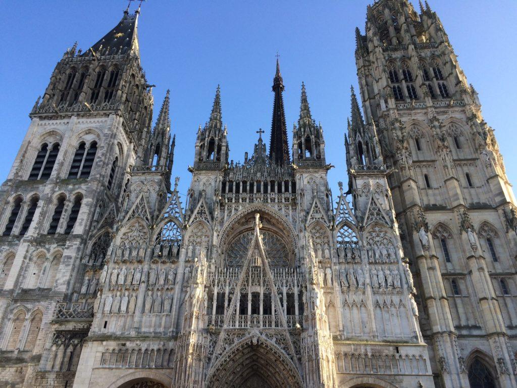 Cattedrale di Rouen fotografata dalla COOer di GetCOO