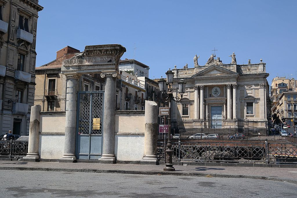 GetCOO Catania anfiteatro romano e chiesa di san biagio