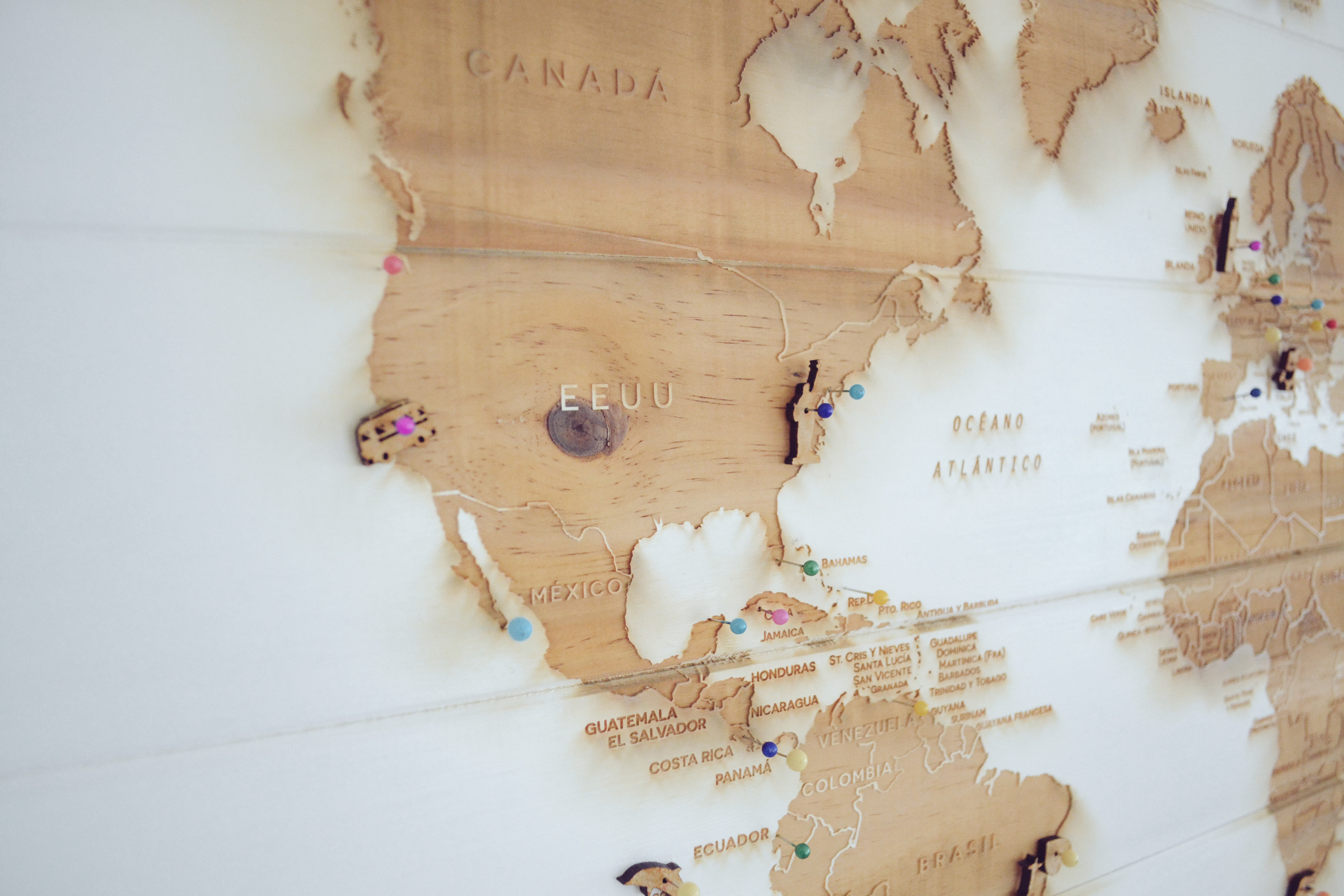 GetCOO viaggio world map