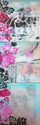 l'Arte di Maria Giovanna Morelli, GetCOO Blog; Linea M3 – 2013 – tecnica mista su legno
