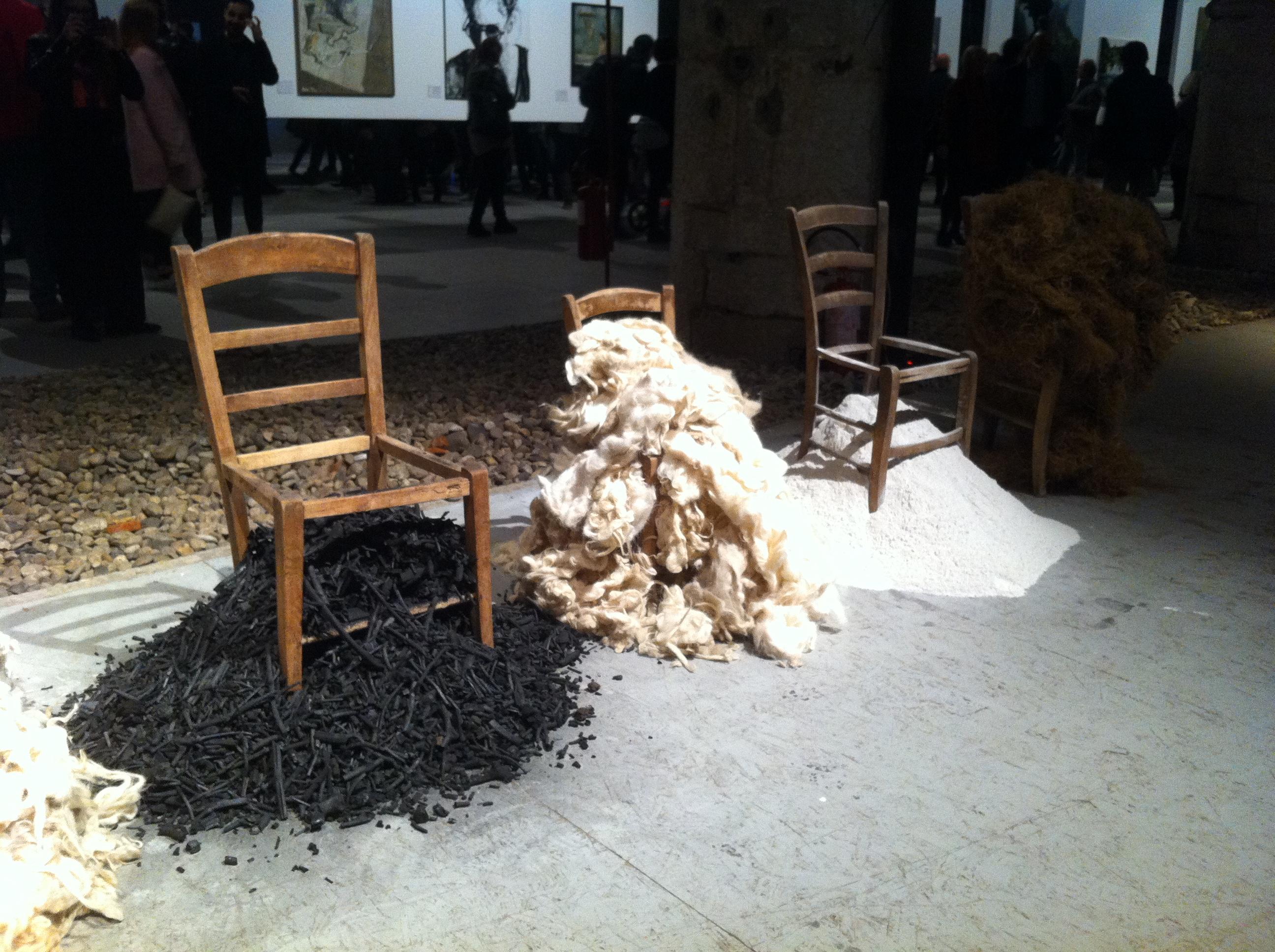 l'Arte di Maria Giovanna Morelli- Vetrine Vestite d'Arte GetCOOBlog