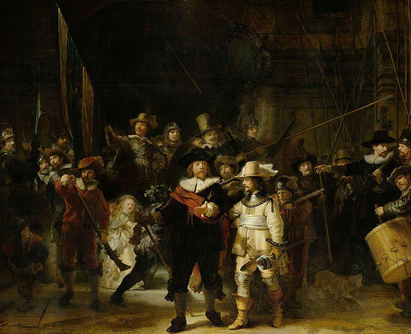 La ronda di Notte Rembrandt GetCOO aprile