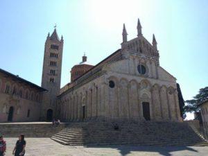 Massa Marittima chiesa di San Cerbone GetCOO aprile