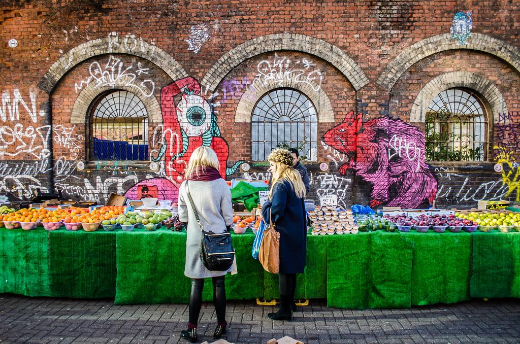 Brick Lane Market Londra GetCOO