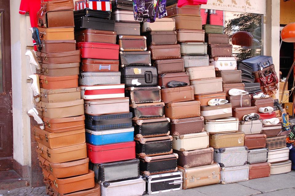 iaggio vacanza valigia con GetCOO