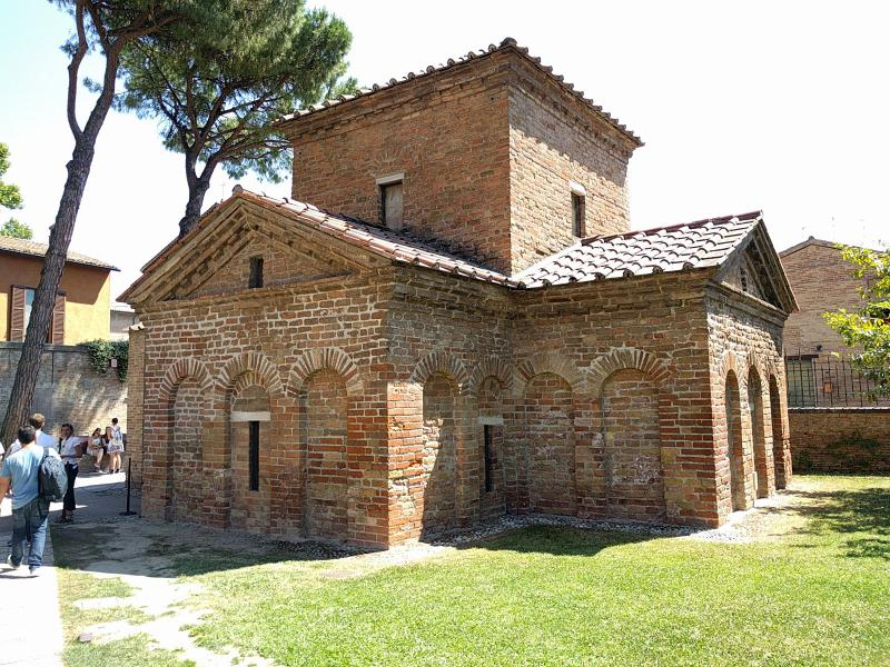 Mausoleo di Galla Placidia ravenna getcoo