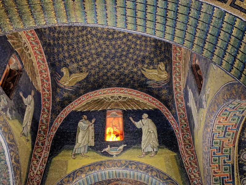 Mausoleo di Galla Placidia ravenna getcoo colombe