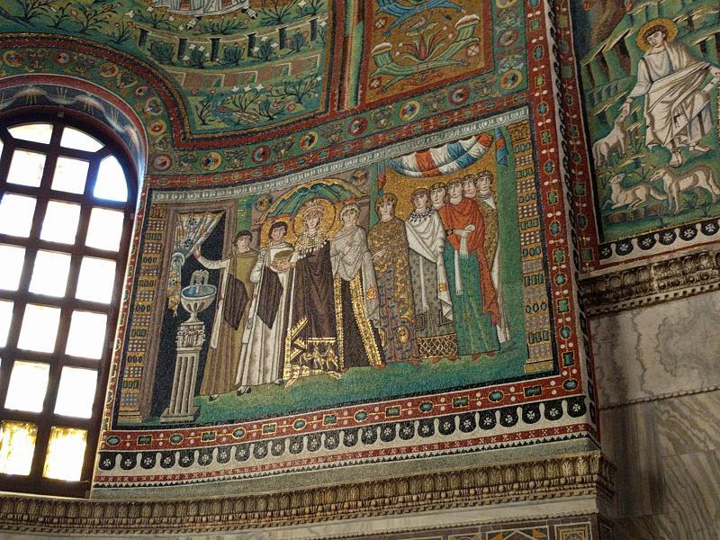 Basilica di San vitale Teodora ravenna getcoo