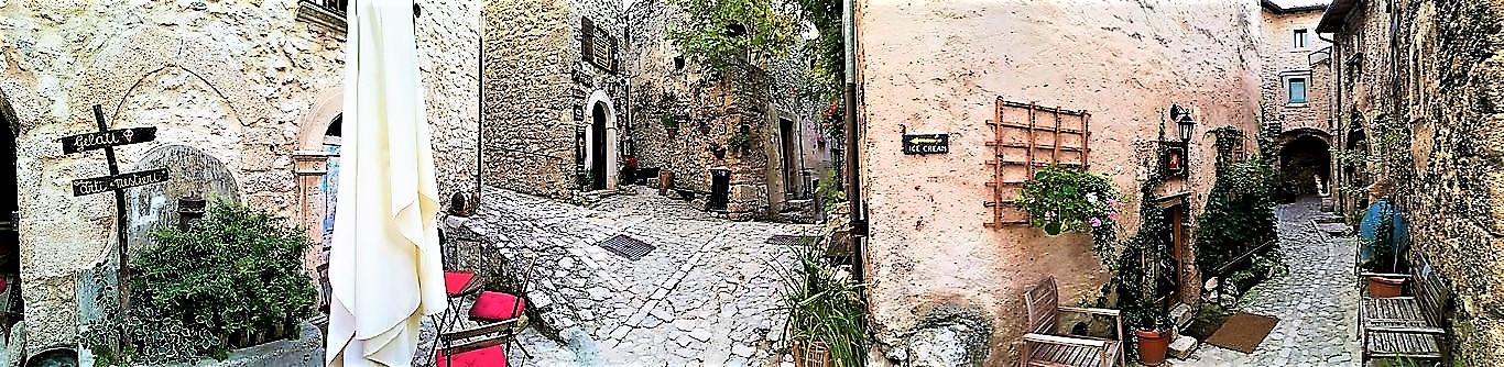 Santo Stefano di Sessanio panoramica borgo GetCOO