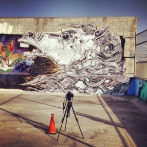 Bucefalo wall Zamoc Los Angeles GetCOO