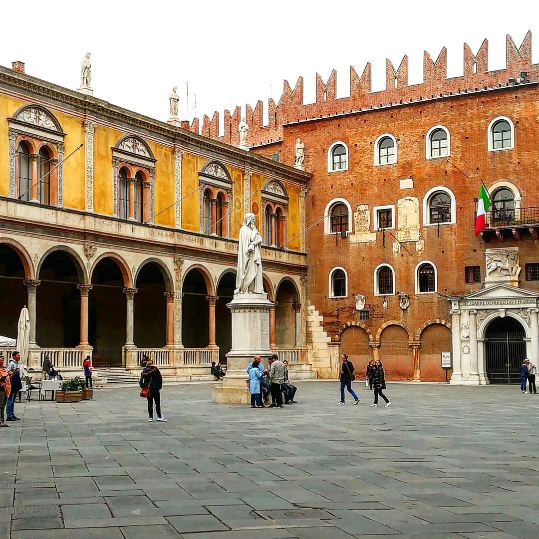 Piazza dei Signori gita a Verona GetCOO