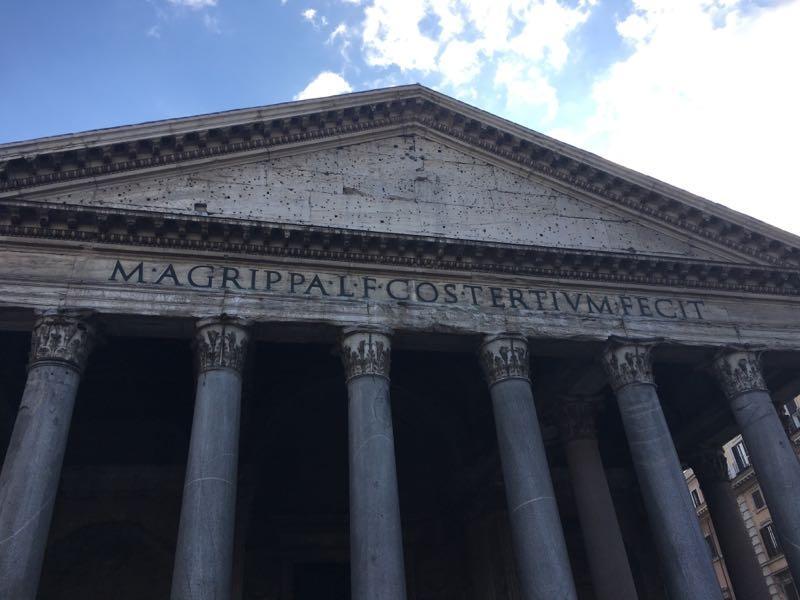 Pantheon Roma GetCOO dicembre