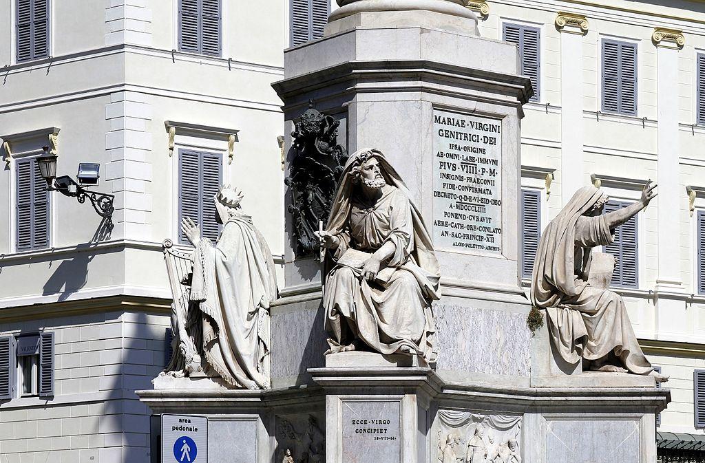 Colonna dell'Immacolata Piazza_di_Spagna Roma GetCOO dicembre