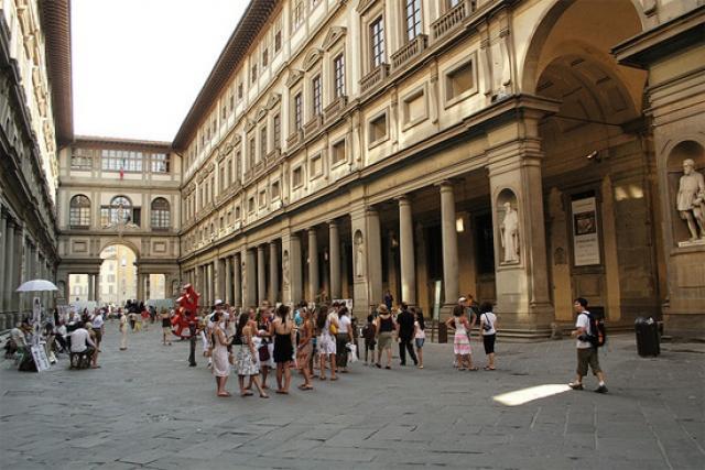 Galleria degli uffizi Firenze top 30 musei italiani GetCOO travel