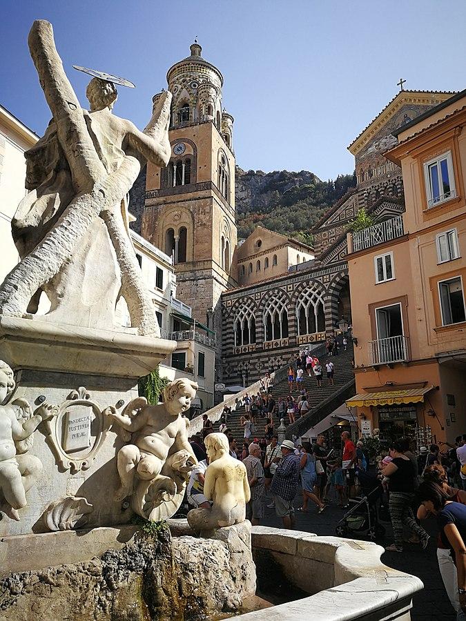 Fontana di Sant'Andrea Amalfi GetCOO Travel