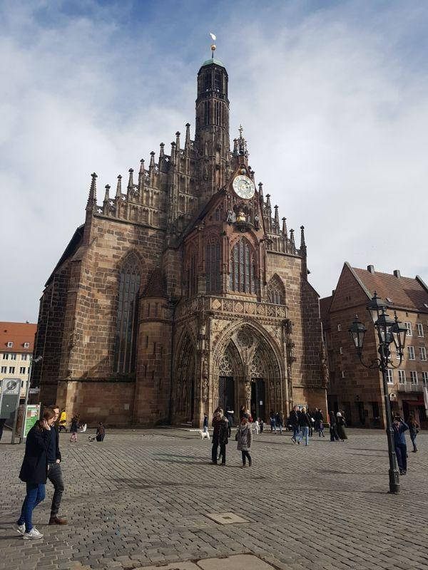 Frauenkirche church of Our Lady Norimberga GetCOO Travel