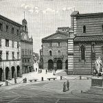 Grosseto antica piazza Vittorio Piazza Dante GetCOO travel xilograia antonio centenari
