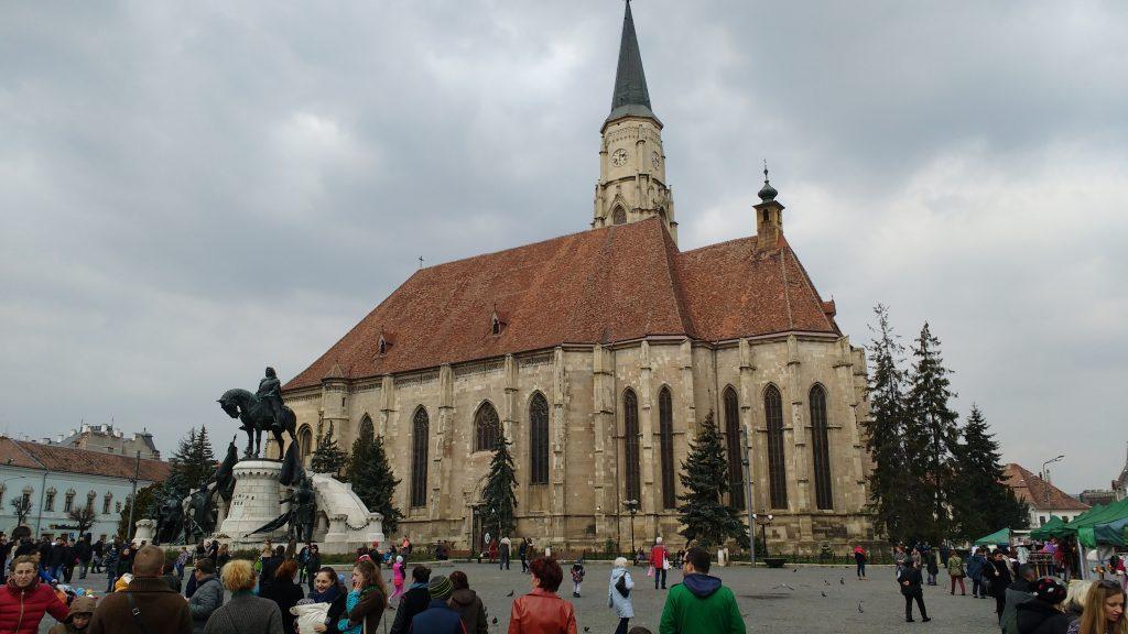 piazza Cluj Transilvania GetCOOtravel