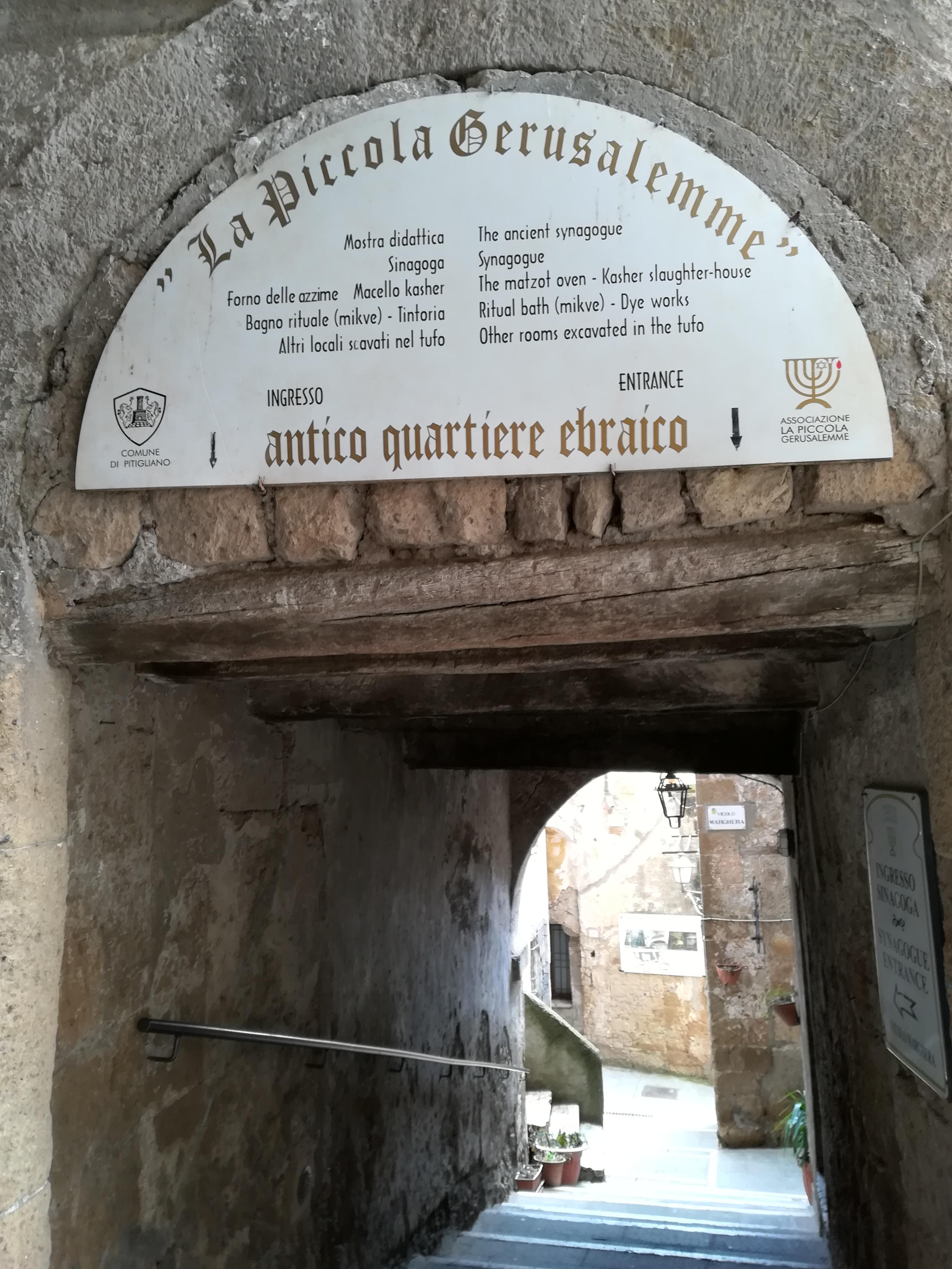 La piccola Gerusalemme cosa vedere a Pitigliano GetCOO travel