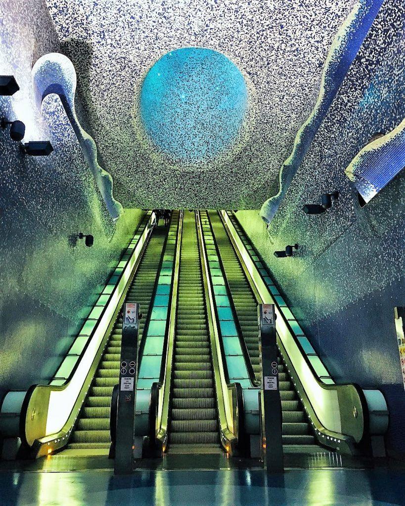 Stazione Toledo metropolitana dell'arte a Napoli GetCOO travel