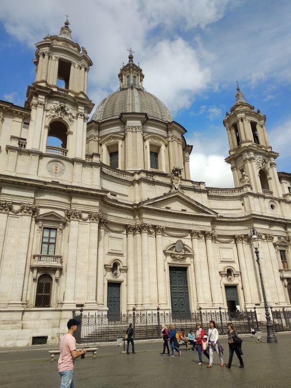 Chiesa di sant'agnese in agone Roma GetCOO travel maggio