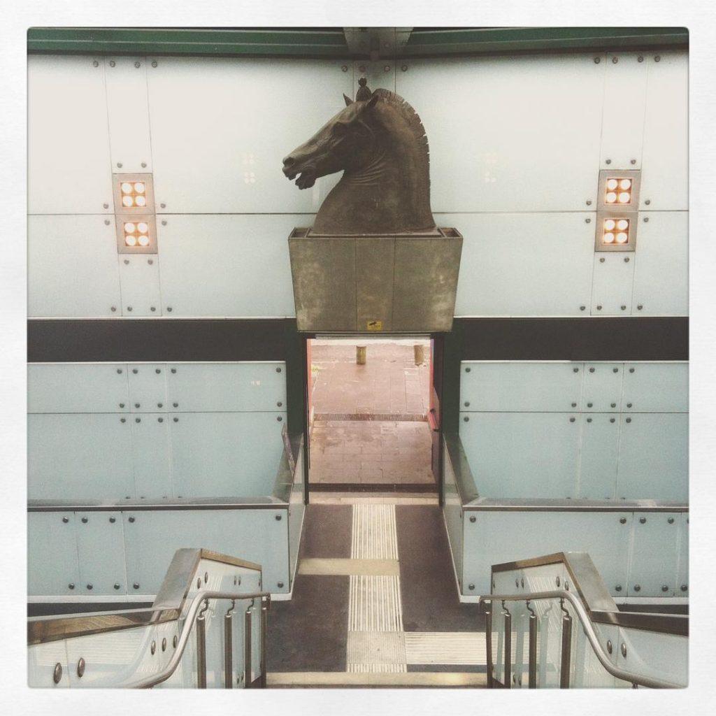 stazione Museo metropolitana dell'arte a Napoli GetCOO Travel