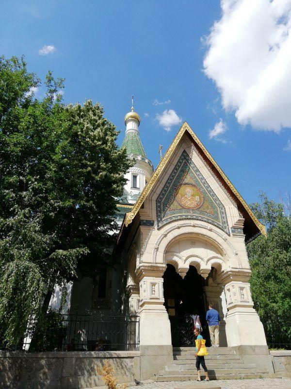 Chiesa di Saint Nicholas the Miracle-Maker a Sofia GetCOO travel