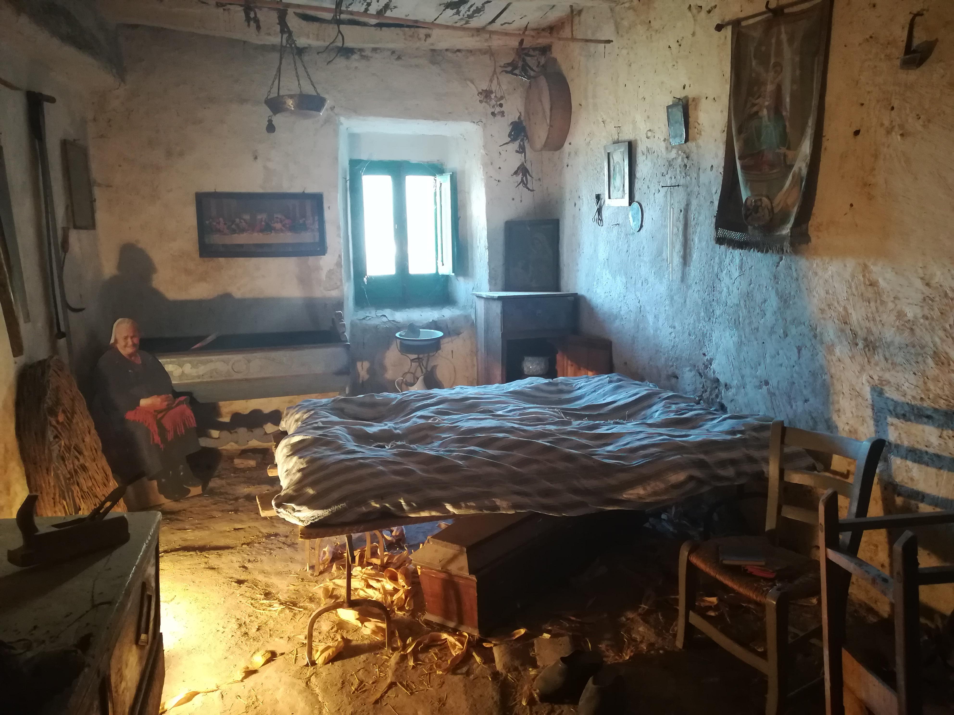 Camera da letto di Marlurita cosa vedere a Pacentro GetCOO Travel