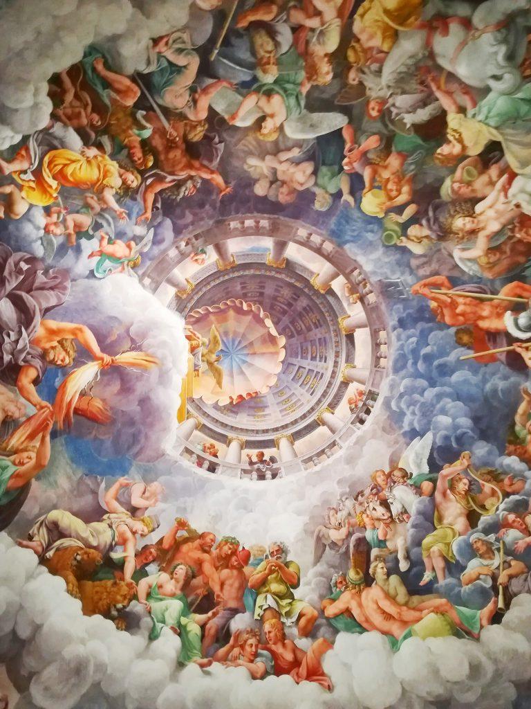 Sala dei Giganti Palazzo Te Cosa vedere a Mantova