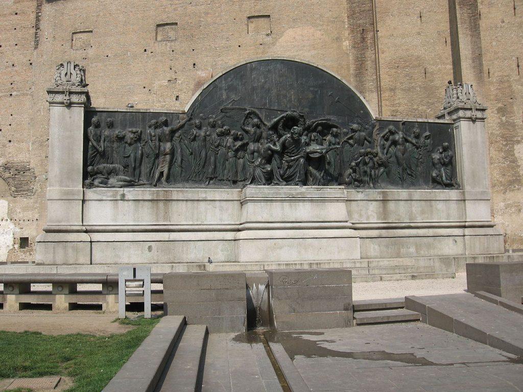 Cosa vedere a parma monumento a giuseppe verdi