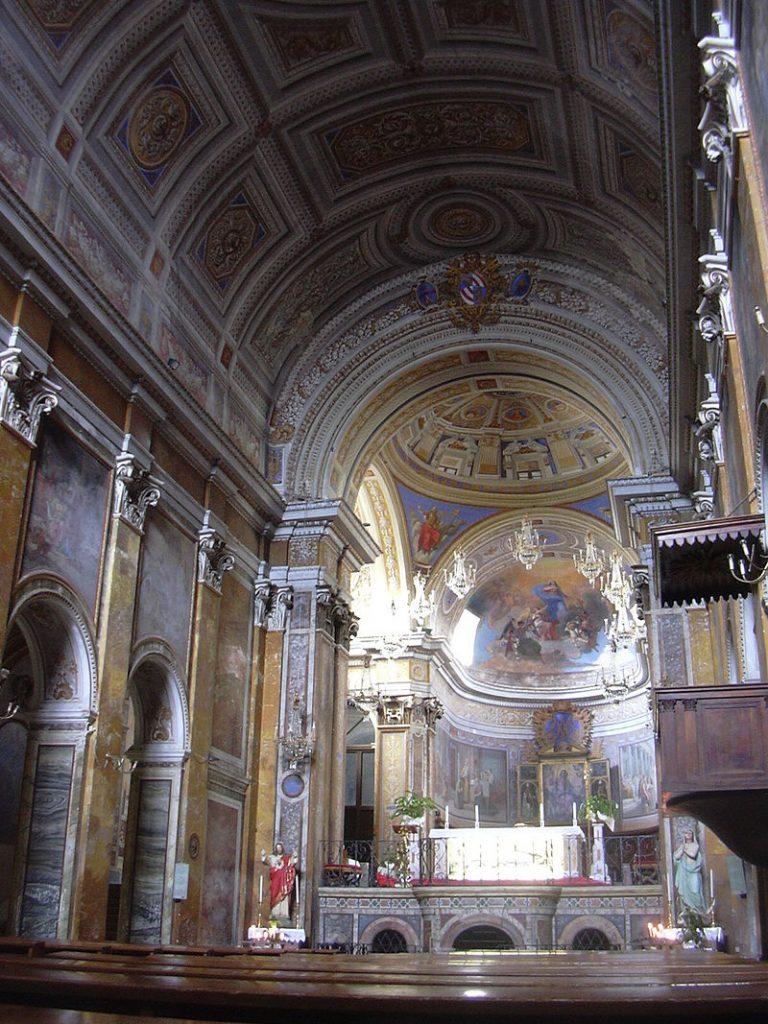 Cosa Vedere a Nepi: Duomo navata centrale