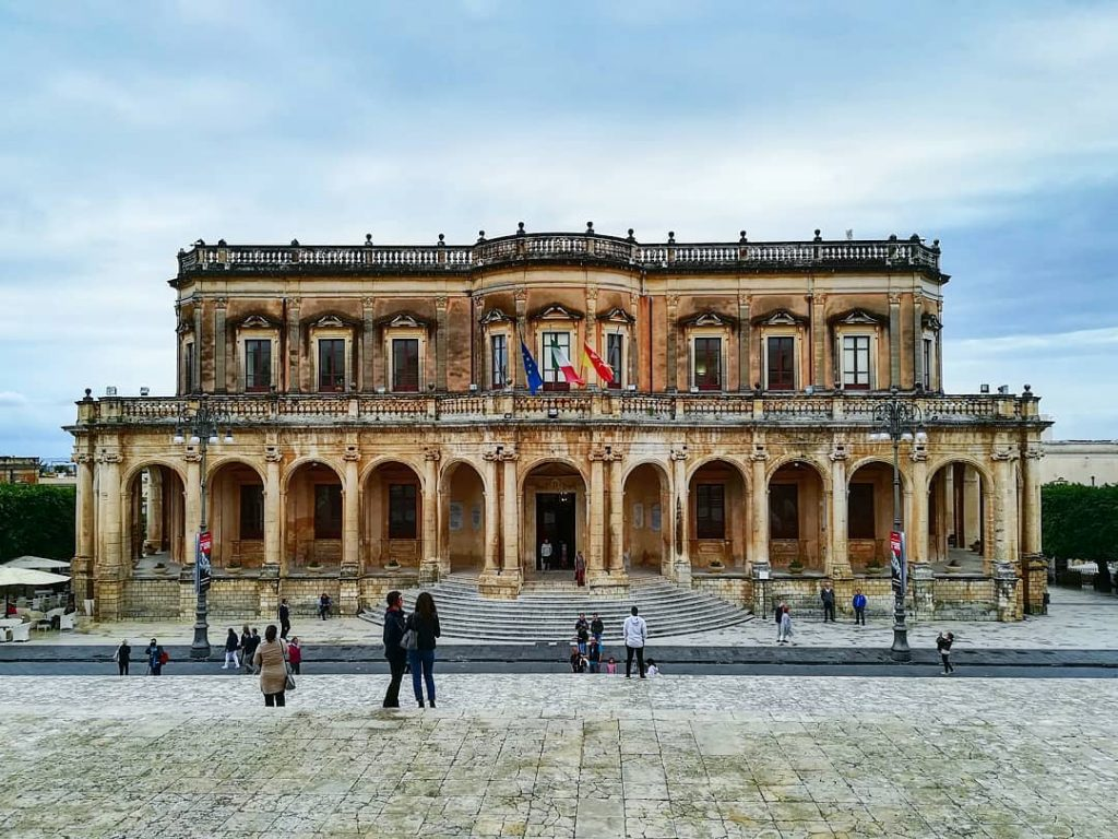 Cosa vedere a Noto: palazzo Ducezio