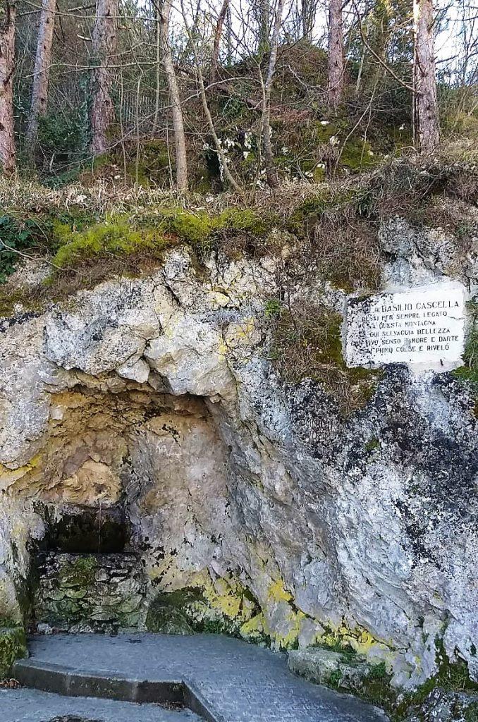 cosa vedere a Guardiagrele: sorgente di Bocca di Valle