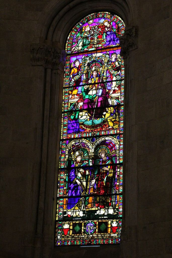 Vetrata cattedrale san martino lucca
