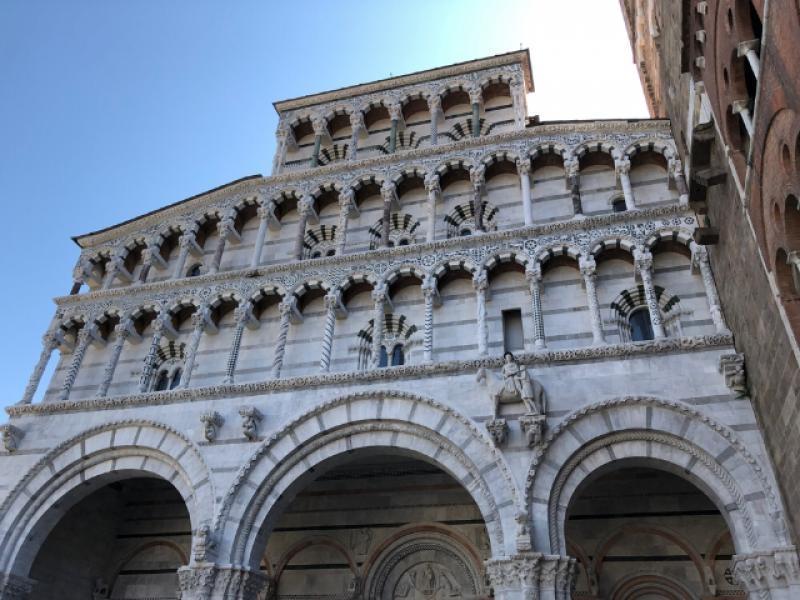 La Cattedrale Di San Martino A Lucca Getcoo Travel Blog