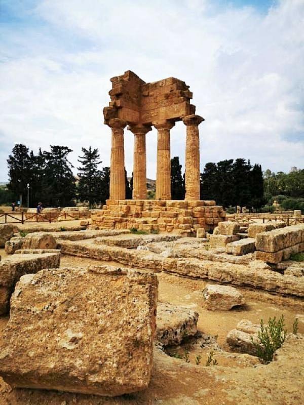 tempio di Castore e Polluce agrigento