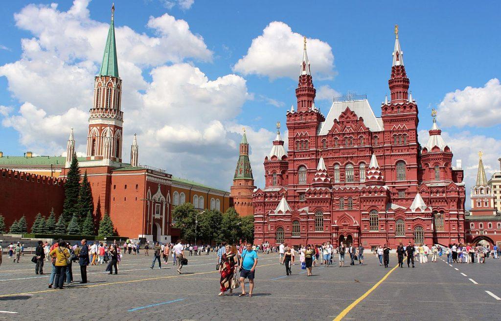 Piazza Rossa e museo statale di storia