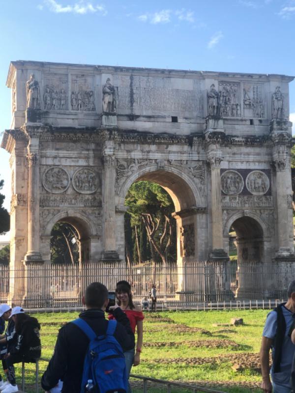 Arco di Costantino a Roma