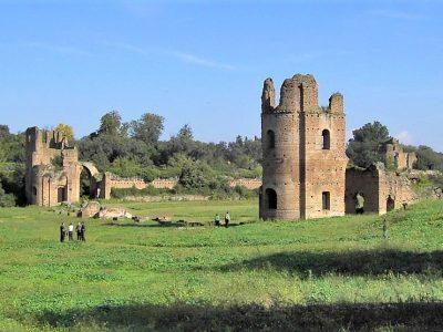 IL CIRCO DI MASSENZIO A ROMA