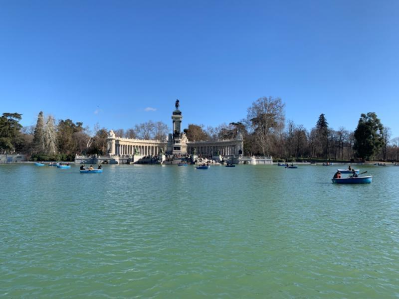 Monumento Alfonso XII Madrid